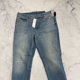 Primary Photo - BRAND: WHITE HOUSE BLACK MARKET STYLE: JEANS COLOR: DENIM SIZE: 10 SKU: 315-31513-75346