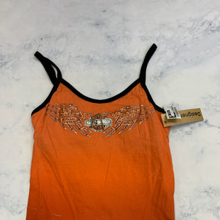 Primary Photo - BRAND: HARLEY DAVIDSON STYLE: TOP SLEEVELESS COLOR: ORANGE SIZE: L SKU: 315-31513-81411
