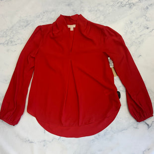 Primary Photo - BRAND: MICHAEL BY MICHAEL KORS STYLE: TOP LONG SLEEVE COLOR: RED SIZE: M SKU: 315-31513-82226