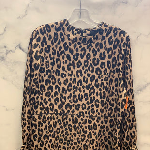 Primary Photo - BRAND: ANN TAYLORSTYLE: DRESS SHORT LONG SLEEVECOLOR: ANIMAL PRINTSIZE: 14SKU: 315-31512-18544
