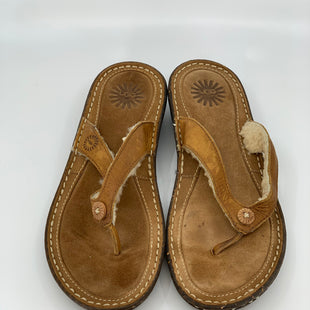 Primary Photo - BRAND: UGGSTYLE: FLIP FLOPSCOLOR: BROWNSIZE: 8SKU: 315-31512-21137