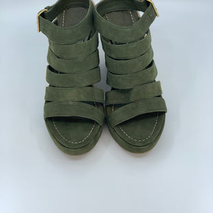 Primary Photo - BRAND: TORY BURCH STYLE: SANDALS HIGH COLOR: OLIVE SIZE: 7.5 SKU: 315-31513-67843