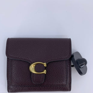 Primary Photo - BRAND: COACH STYLE: WALLET COLOR: MAROON SIZE: SMALL SKU: 315-31512-26343