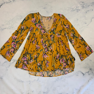 Primary Photo - BRAND: FREE PEOPLE STYLE: TOP LONG SLEEVE COLOR: YELLOW SIZE: XS SKU: 315-31513-82660