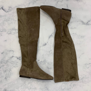 Primary Photo - BRAND: LUCKY BRAND STYLE: BOOTS KNEE COLOR: GREY SIZE: 10 SKU: 315-31513-68108