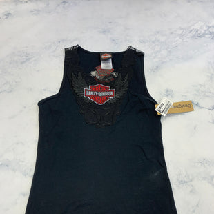 Primary Photo - BRAND: HARLEY DAVIDSON STYLE: TOP SLEEVELESS COLOR: BLACK SIZE: L SKU: 315-31513-81414