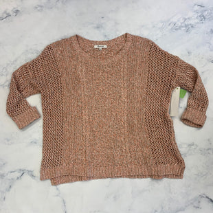 Primary Photo - BRAND: MADEWELL STYLE: SWEATER SHORT SLEEVE COLOR: PINK SIZE: M SKU: 315-31512-30133