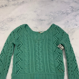 Primary Photo - BRAND: FREE PEOPLE STYLE: SWEATER HEAVYWEIGHT COLOR: GREEN SIZE: M SKU: 315-31512-26455