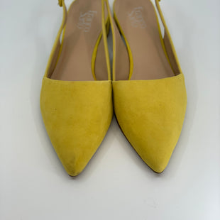 Primary Photo - BRAND: FRANCO SARTO STYLE: SHOES FLATS COLOR: YELLOW SIZE: 10 SKU: 315-31525-3326