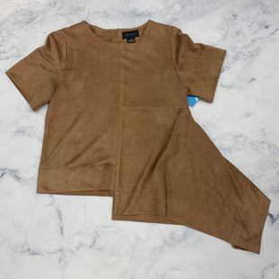 Primary Photo - BRAND:    GRACIASTYLE: TOP SHORT SLEEVE COLOR: BROWN SIZE: S OTHER INFO: GRACIA - SKU: 315-31513-73679