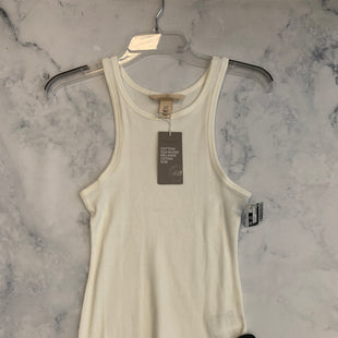 Primary Photo - BRAND: H&M STYLE: TOP SLEEVELESS COLOR: WHITE SIZE: XS SKU: 315-31513-74453