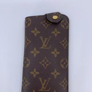 Primary Photo - BRAND: LOUIS VUITTON STYLE: EYE GLASS CASE COLOR: BROWN MODEL NUMBER: EYE GLASS CASE SKU: 315-31513-72743