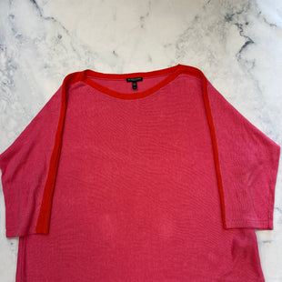 Primary Photo - BRAND: EILEEN FISHER STYLE: SWEATER LIGHTWEIGHT COLOR: PINK SIZE: 2X SKU: 315-31513-82265