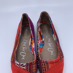 Primary Photo - BRAND: TOMS STYLE: SHOES FLATS COLOR: RED SIZE: 6 SKU: 315-31513-60983