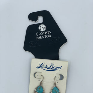 Primary Photo - BRAND: LUCKY BRAND STYLE: EARRINGS COLOR: TURQUOISE SKU: 315-31513-73349