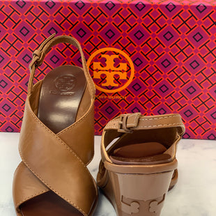 Primary Photo - BRAND: TORY BURCH STYLE: SANDALS HIGH COLOR: TAN SIZE: 6 SKU: 315-31534-312