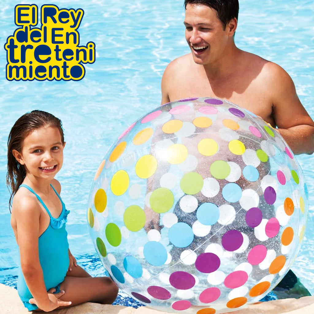 Pelota Inflable Intex Para Piscina Playa 107 Cm (5030214402187)