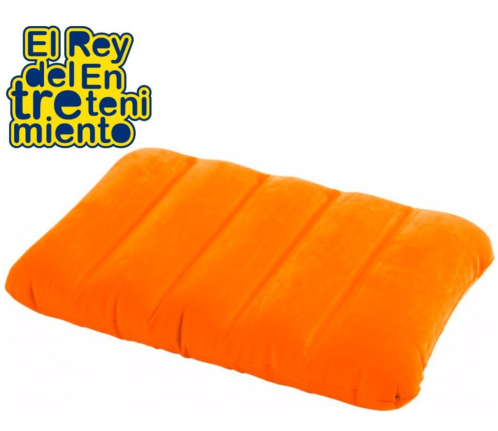 Kit 2 Almohadas Intex Inflables P/ Colchón Camping (4973519011979)