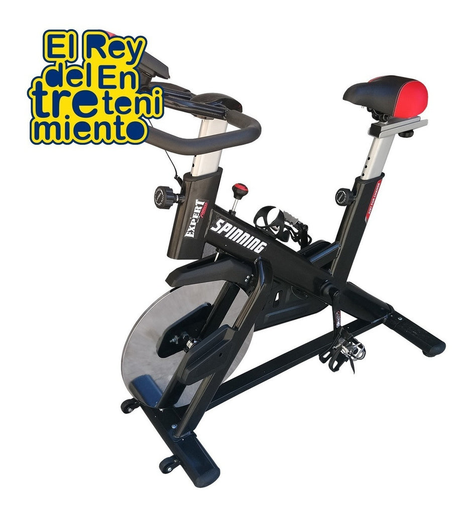 Bicicleta Spinning Profesional Regulable Disco 13kg (4915094651019)