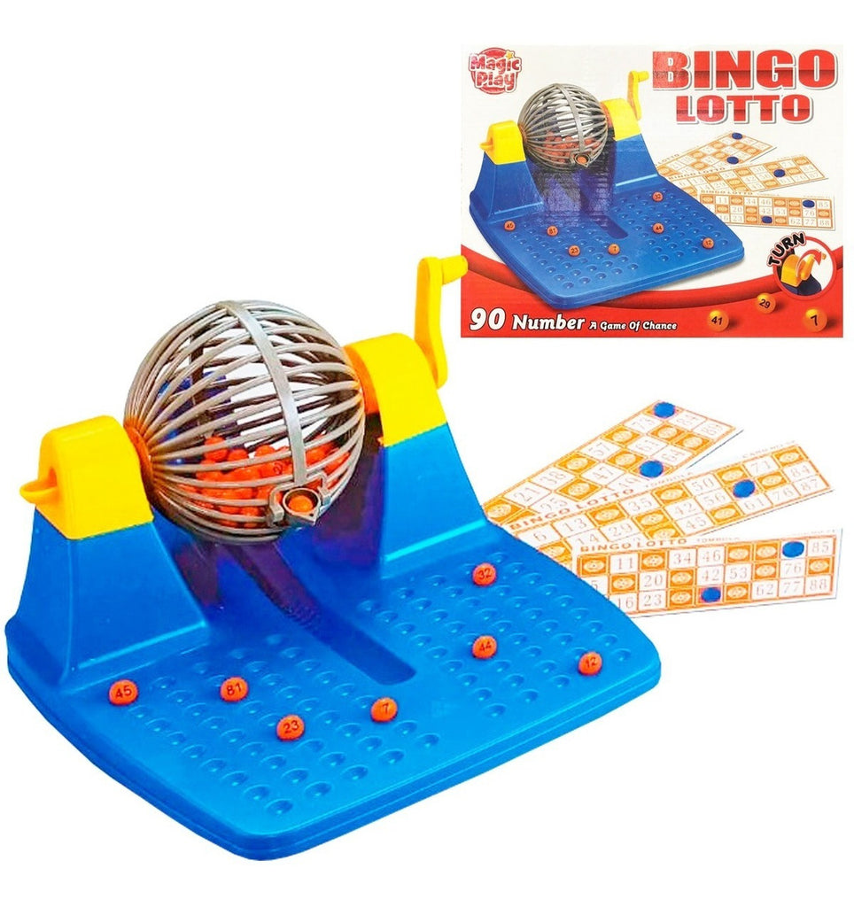Bingo Lotto 48 Cartones Bolillas Bolillero Tablero (4973435551883)