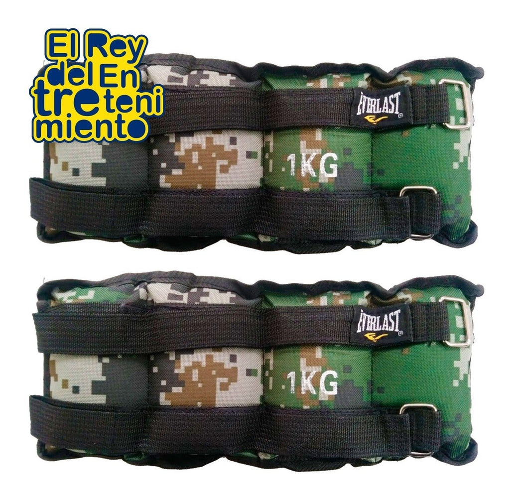 Tobi Pesas 1k Everlast Fitness Running Doble Vecro (4973634879627)