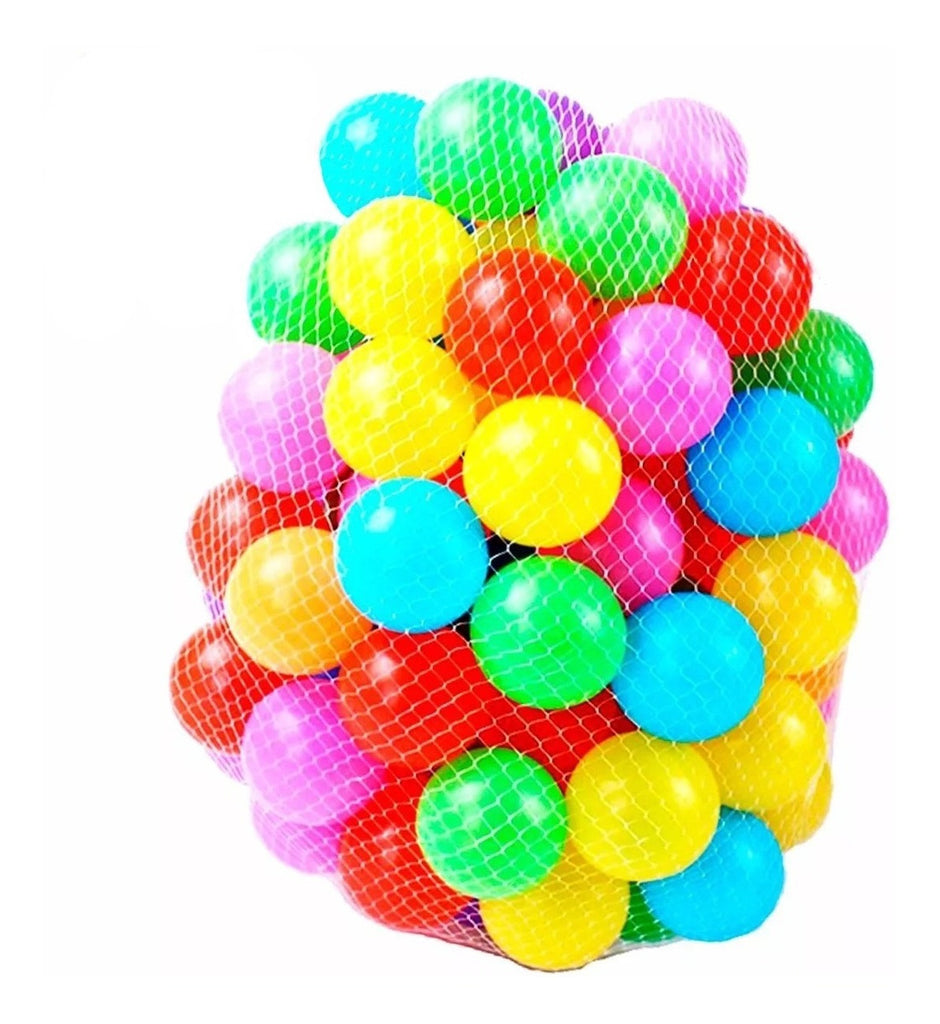 Set 50 Pelotas Pelotero Grandes 7.5cm Brillantes+ Red (4973613154443)