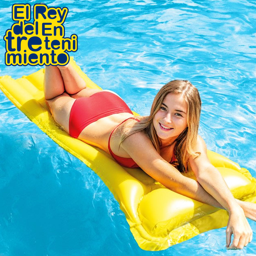 Colchoneta Inflable Intex Piscina Playa 183x69cm (5030216728715)