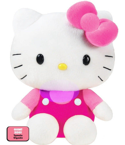 Peluche Gigante Hello Kitty Original Muñeco 50cm ! (4973590085771)