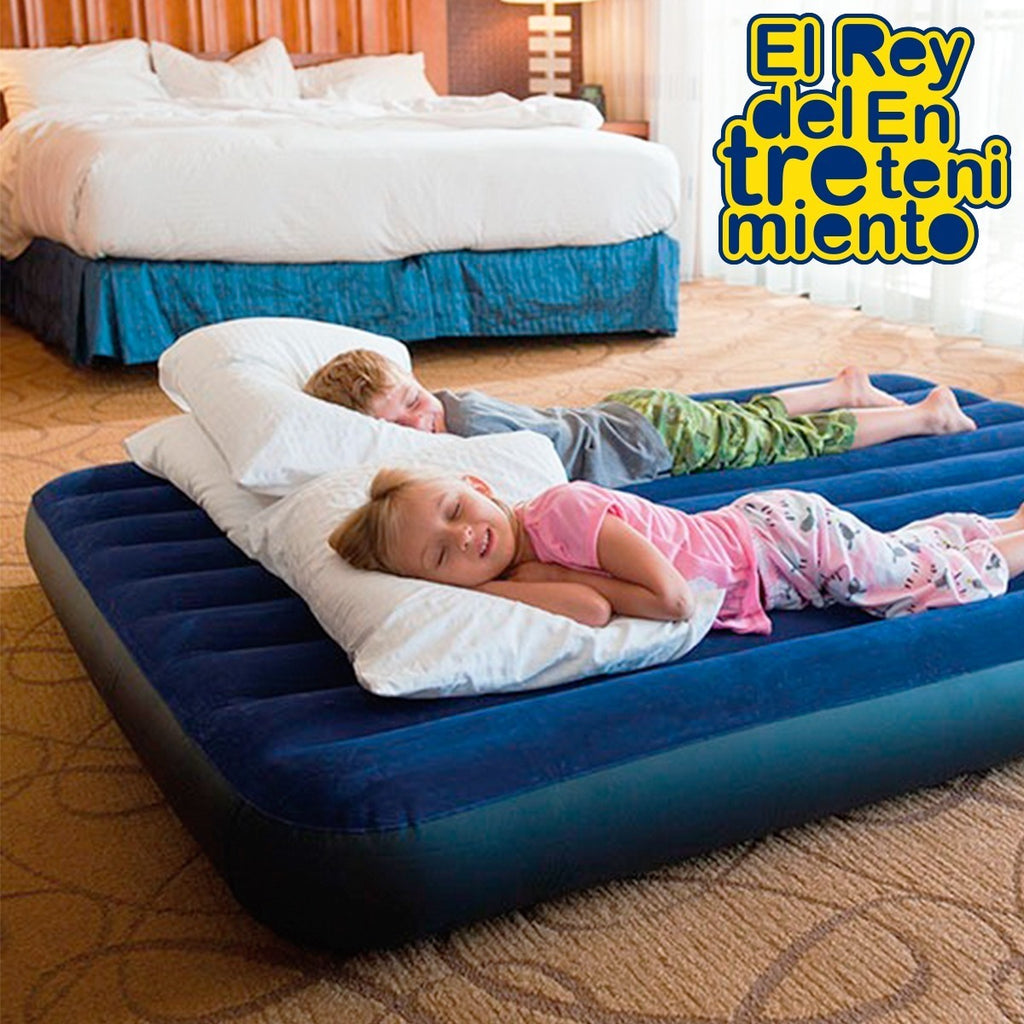 Colchón Inflable Intex 2p Queen Grande Camping +inf (4973483851915)