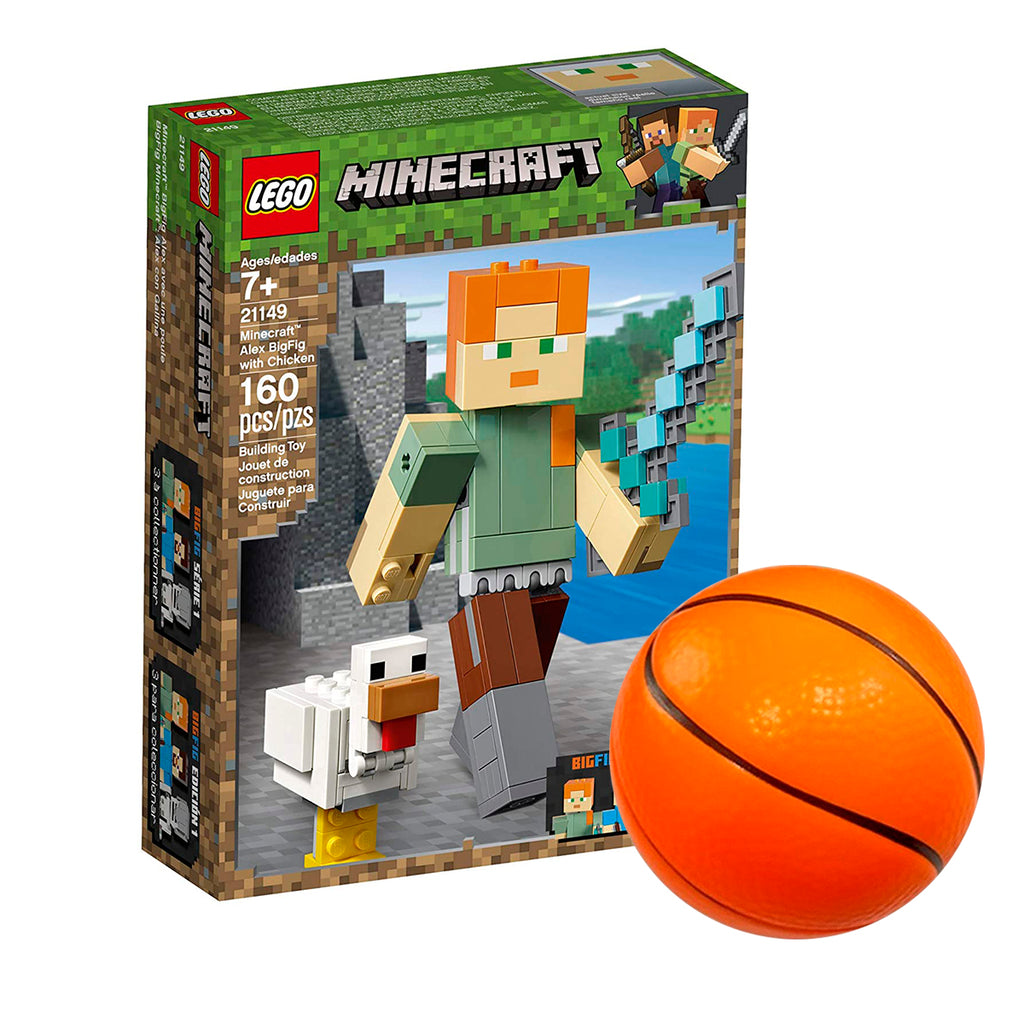 Lego Minecraft - Alex Bigfig - 21149 + Regalo (4973545848971)