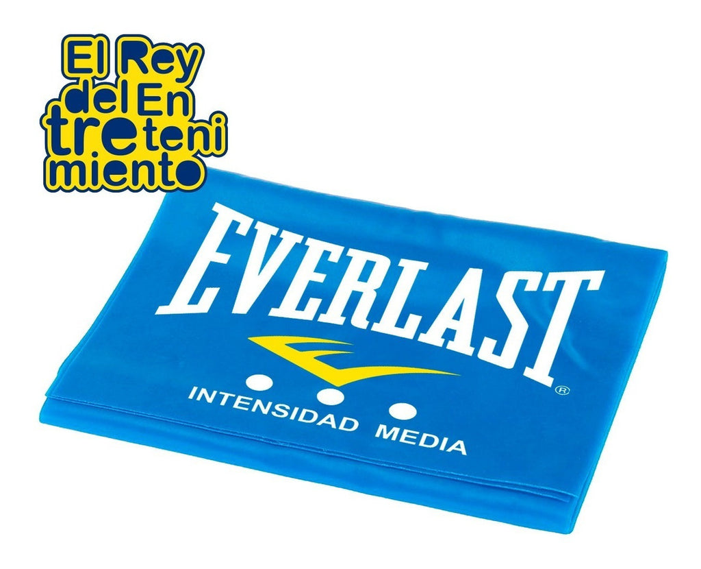 Banda Elástica Everlast 100% Latex Ther Inten Media (4973429850251)
