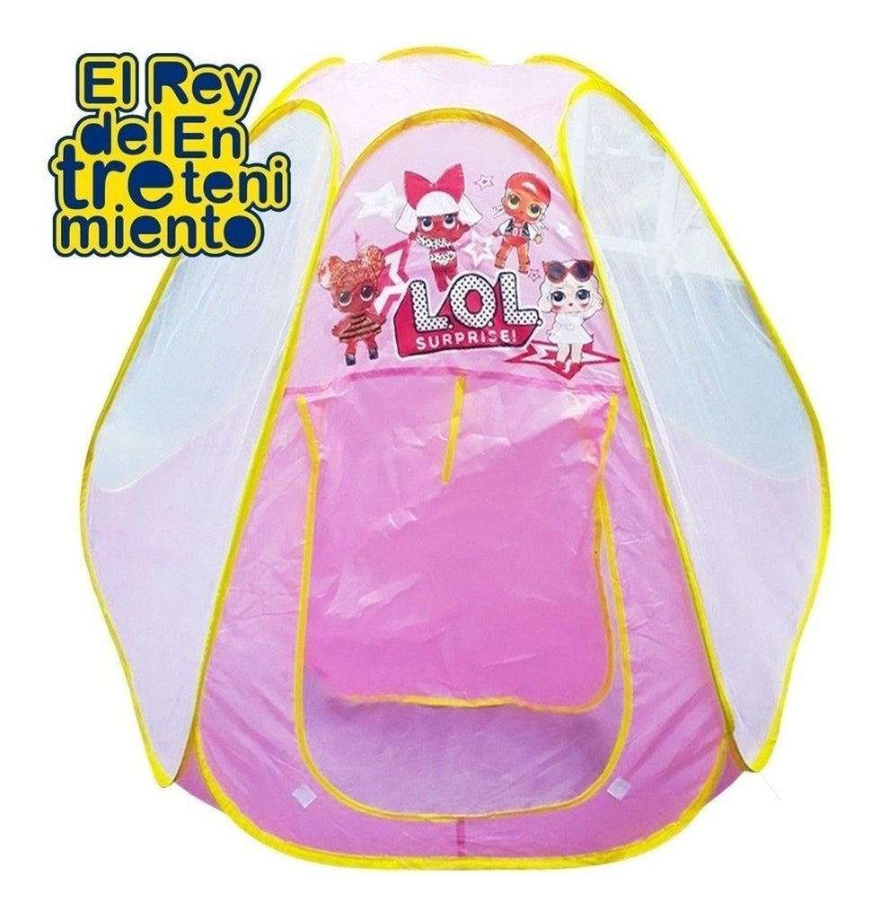 Cama Elástica Lol 1.40m + Cobertor + Red + Carpa Lol (4973470974091)