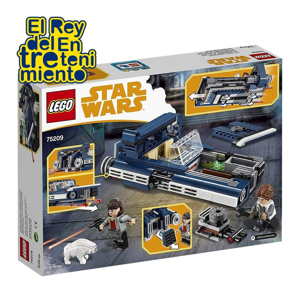 Lego Star Wars Han Solo Land Speeder 75209 + Regalo (4973548372107)