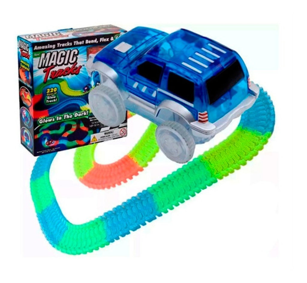 Pista Flexible Magic Tracks 220p Autos Led + Regalo (4973597032587)