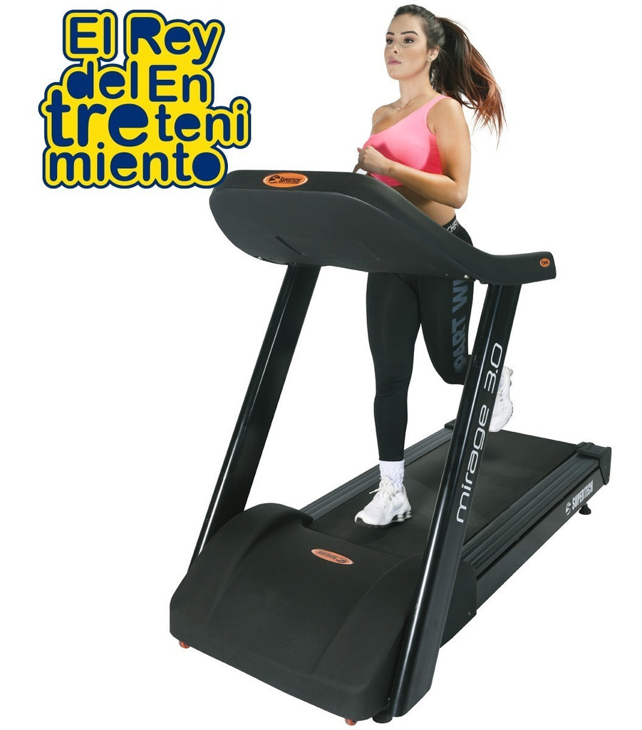 Caminador Supertech Mirage 3.0 Hp Profesional Gym (4973472579723)