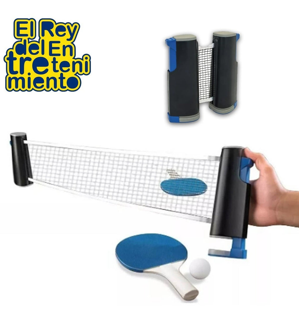 Red Profesional Extensible P/ Ping Pong + 2 Soportes (4973605126283)