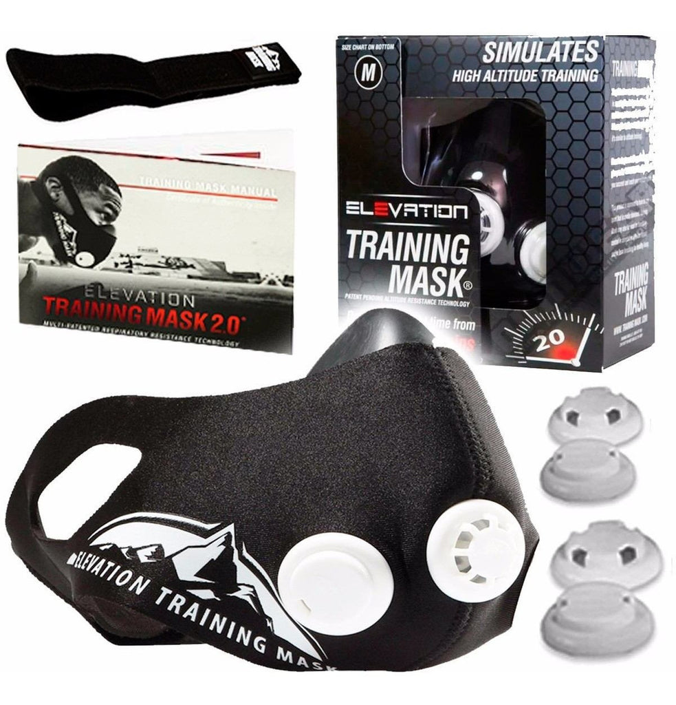 Mascara De Entrenamiento Training Mask 2.0 Elevation (4973559316619)