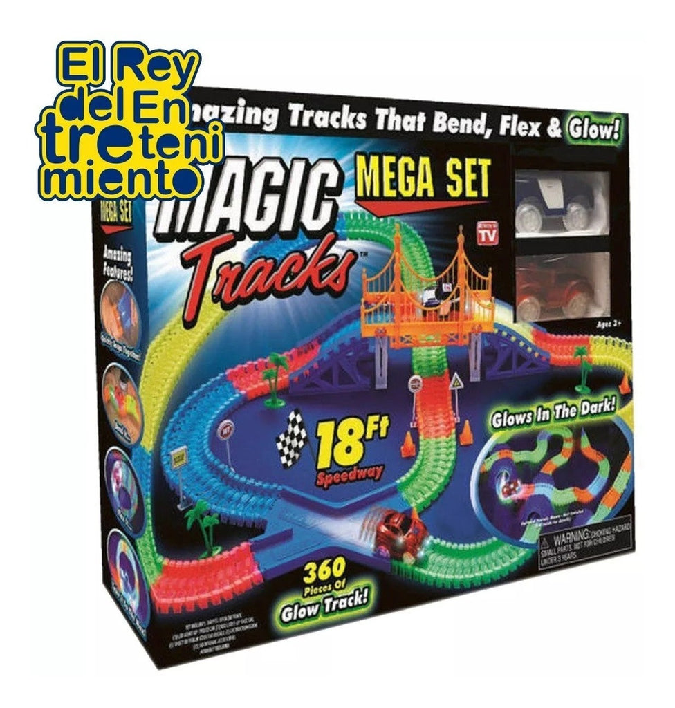 Pista Magic Tracks Flexible 360pcs +2 Autos + Regalo! (4973597327499)