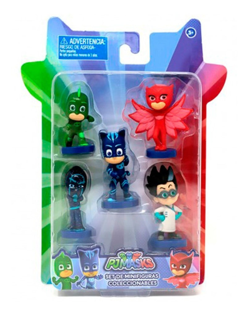 Pj Masks Mini Figuras X5 Original (4973598933131)