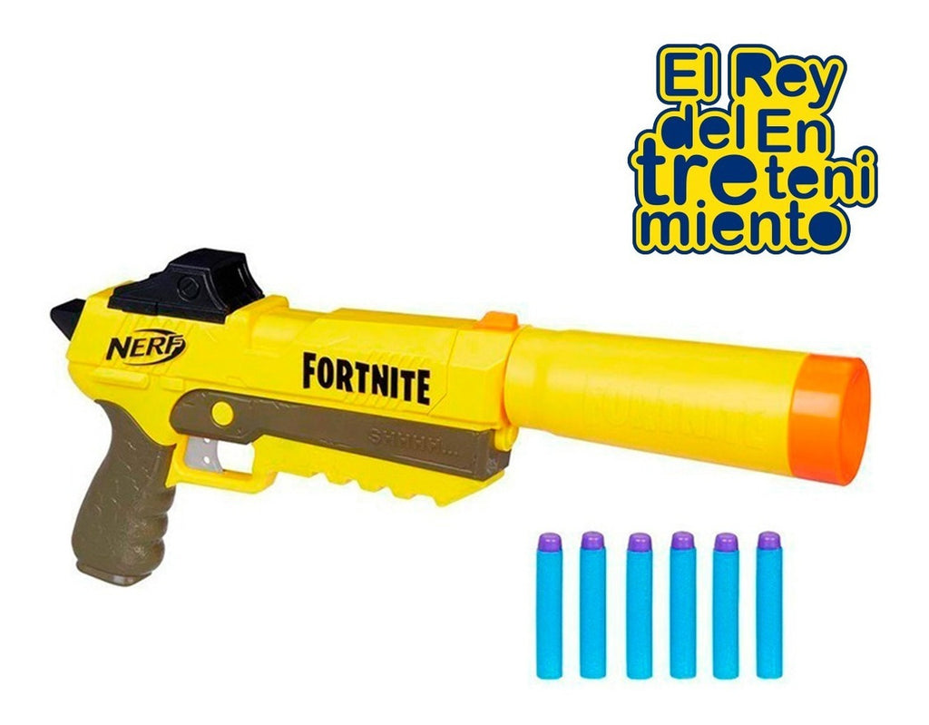 Pistola Nerf Fortnite Elite Sp-l Hasbro Original (4973597950091)