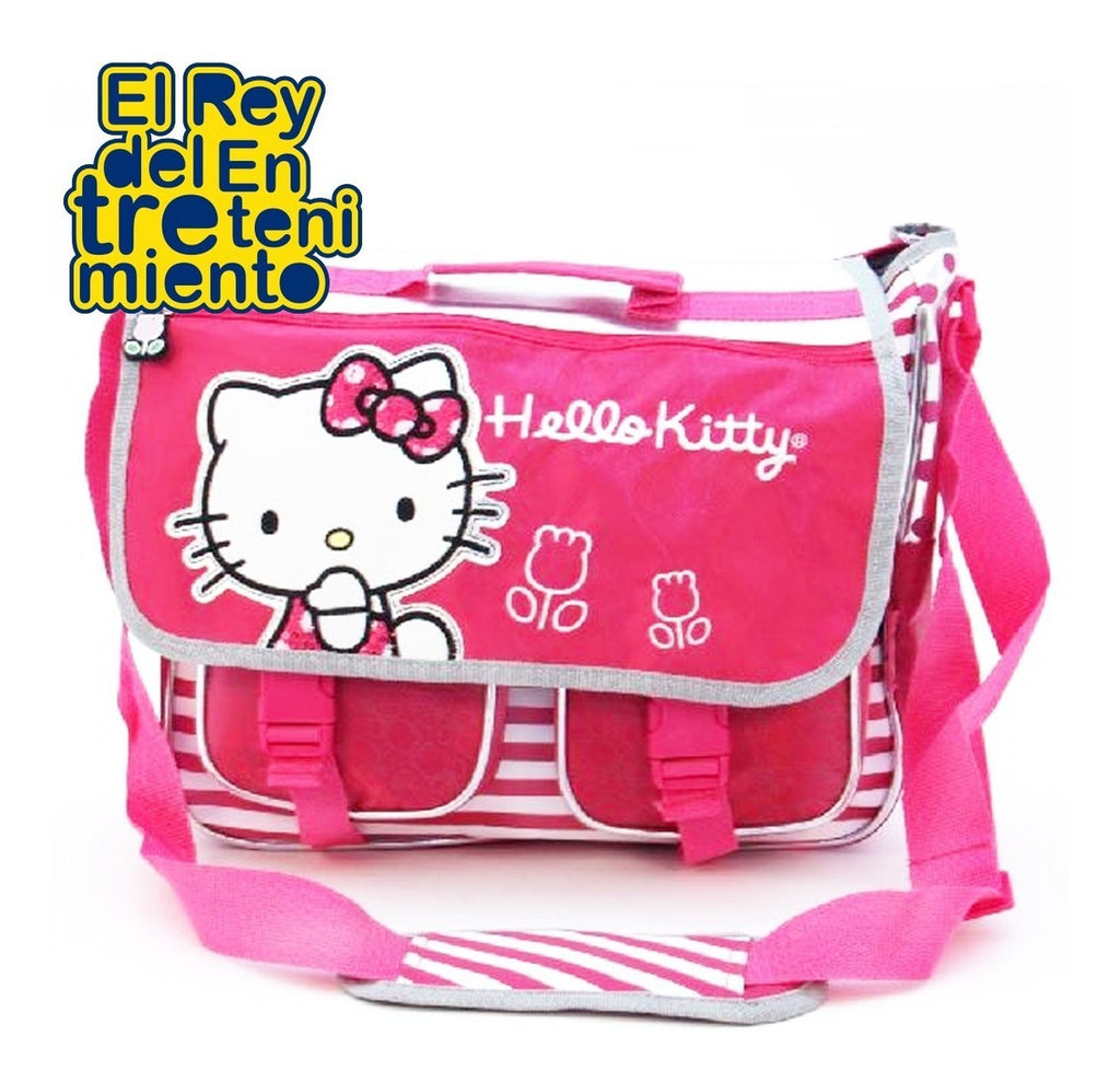 Bolso Mochila Hello Kitty + Set De Baño De Regalo (4973439582347)