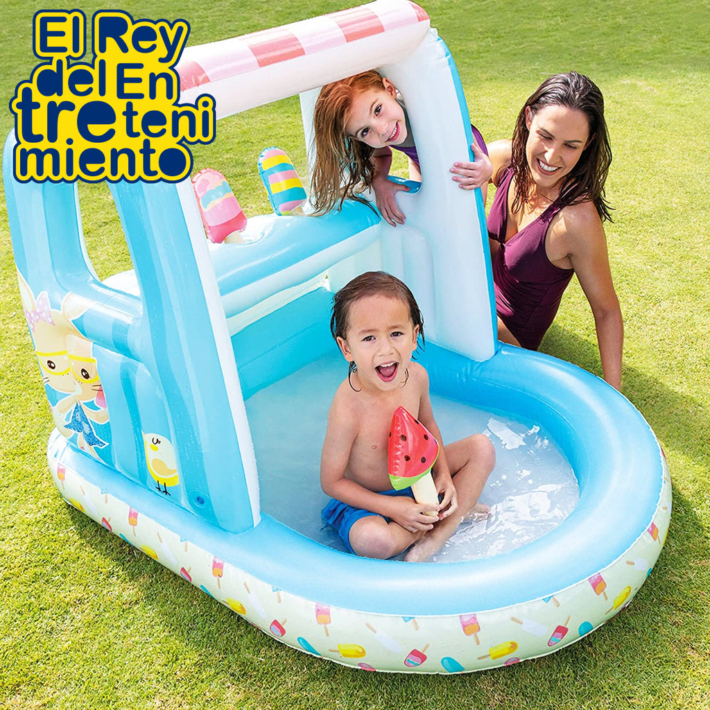 Piscina Inflable Intex Heladeria Para Bebé 60 L (5030198411403)