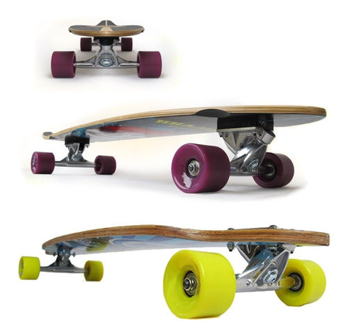Skate Longboard Patineta Profesional Maple Canadiense (4973627539595)
