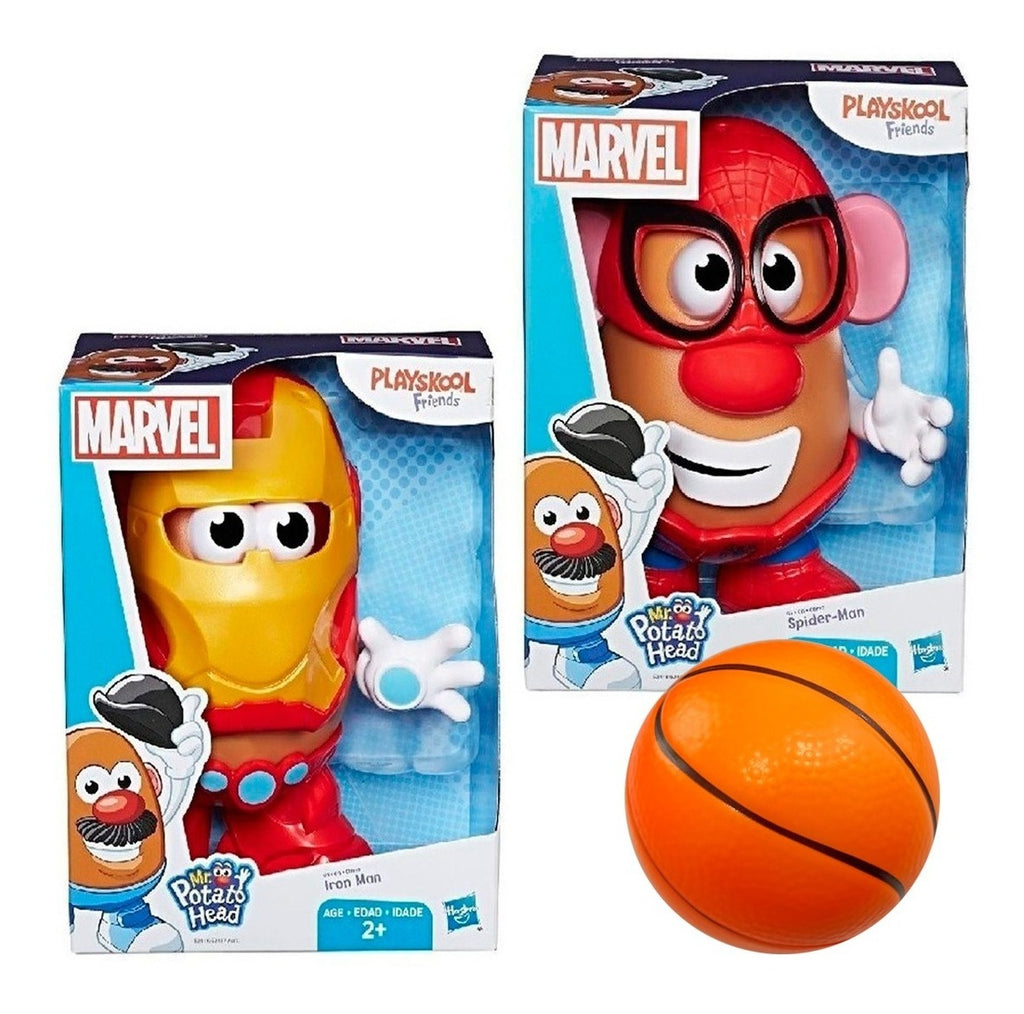 Cara De Papa Hasbro Spiderman Iron Man + Regalo (4973473824907)