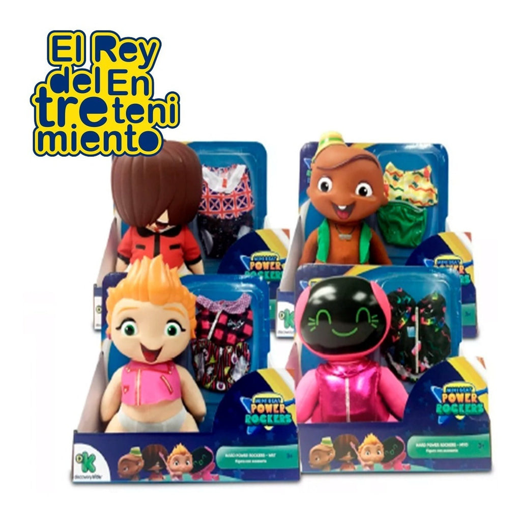 Muñeco Peluche Mini Beat Power Rockers (4973570752651)