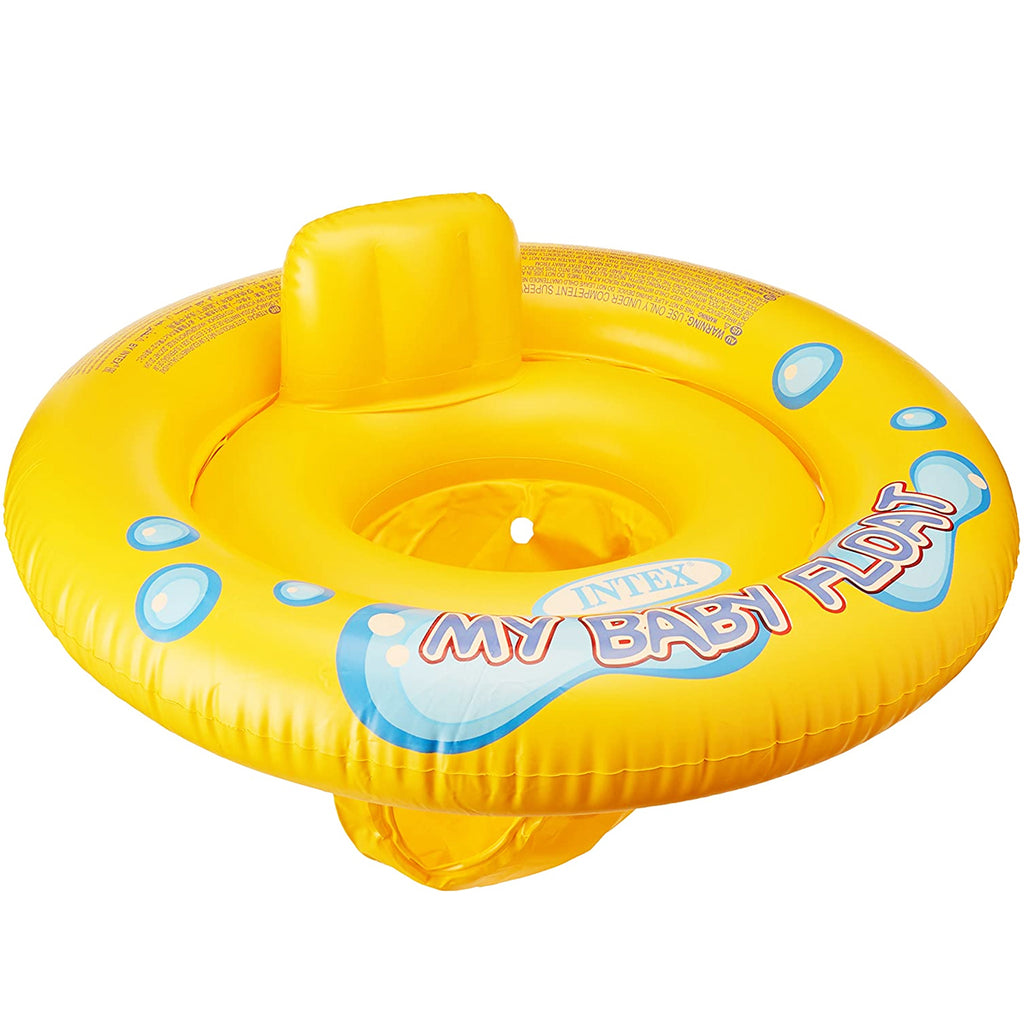 Flotador Inflable Intex Para Bebe Amarillo (5030215778443)