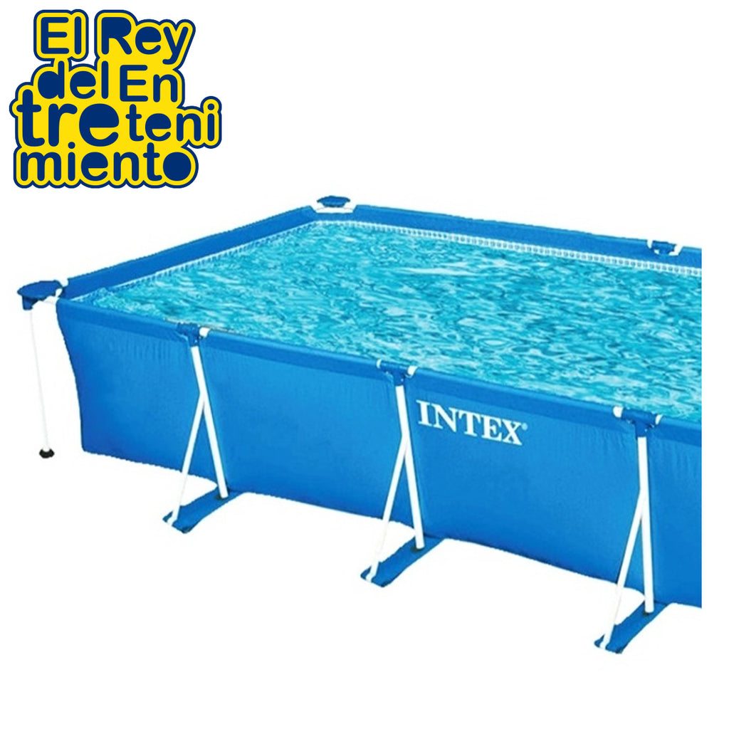 Piscina Estructural Intex 7127 L Rectangular (5028643766411)