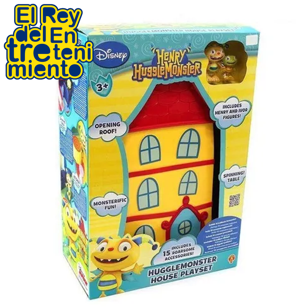Casa Playset Henry Hugglemonster Disney Original (5069102055563)