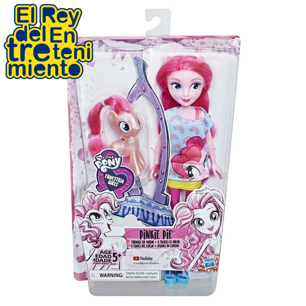 Muñeca My Little Pony Equestria Girl Hasbro Niña + Pony (5041737400459)