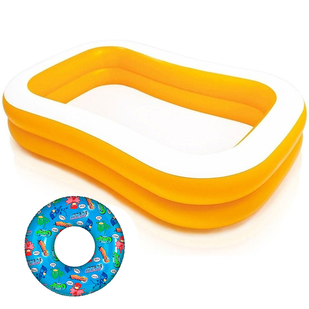 Piscina Intex Inflable 600 L Niños Y Bebe + Regalo! (4973595590795)